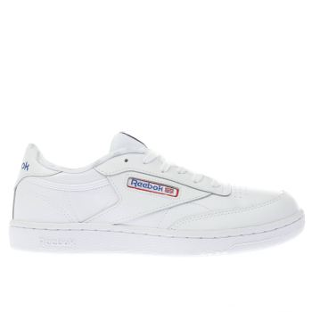 REEBOK WHITE CLUB C 85 YOUTH TRAINERS