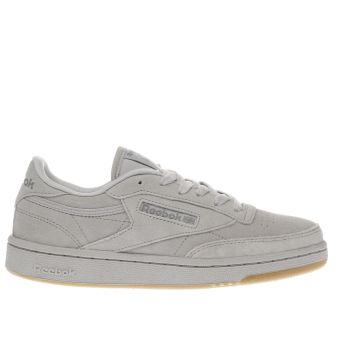 Reebok Light Grey Club C 85 Unisex Youth