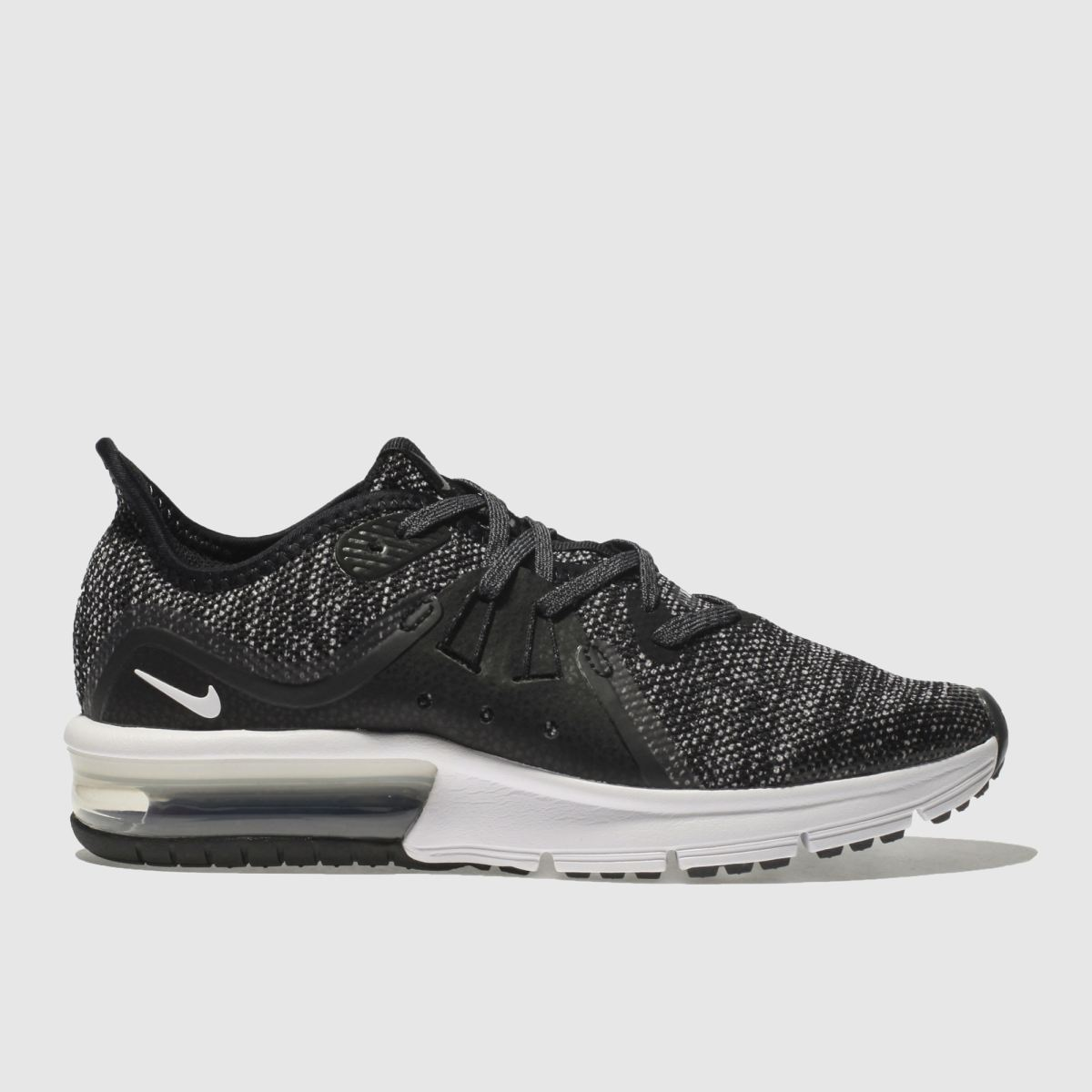 Nike Black & White Air Max Sequent 3 Unisex Youth Youth