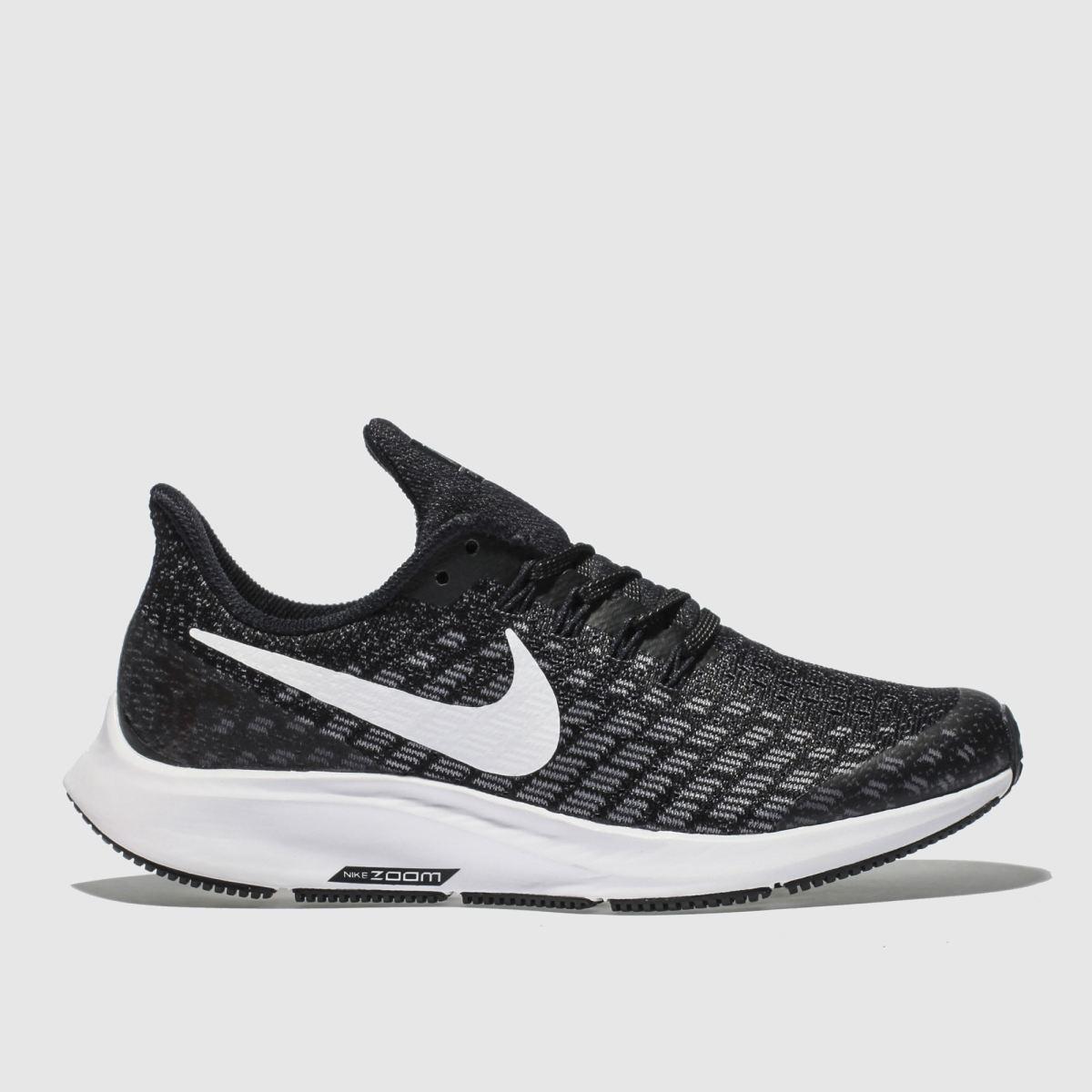 Nike Grey & Black Air Zoom Pegasus 35 Trainers Youth