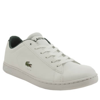 Lacoste White Carnaby Unisex Youth