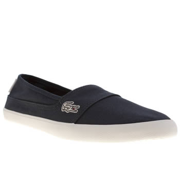 Lacoste Navy & White Marice Unisex Youth