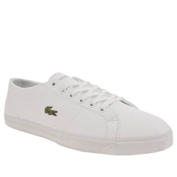 Lacoste White Marcel Unisex Youth
