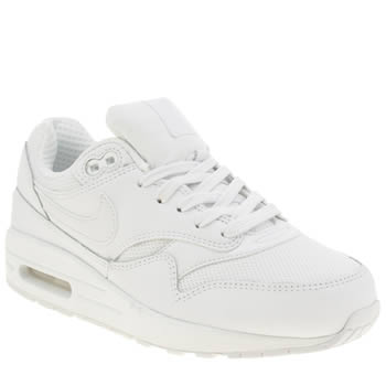 Nike White Air Max 1 Unisex Youth
