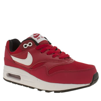 Nike Red Air Max 1 Unisex Youth