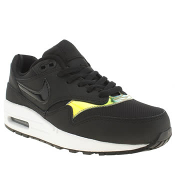 Nike Black & Gold Air Max 1 Unisex Youth