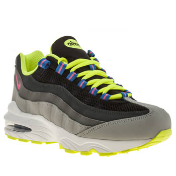 Unisex Nike Grey Air Max 95 Unisex Youth