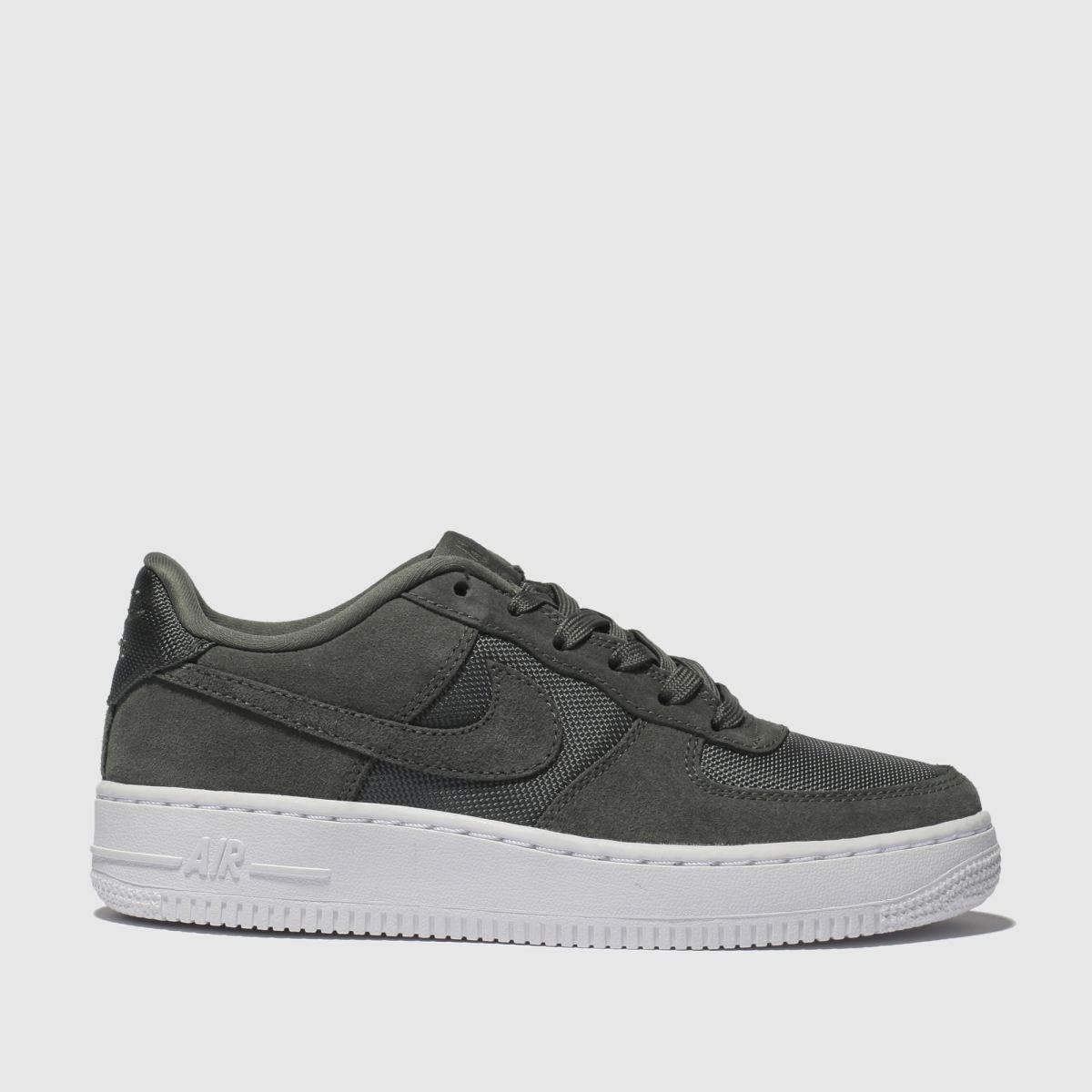 Nike Khaki Air Force 1-1 Trainers Youth