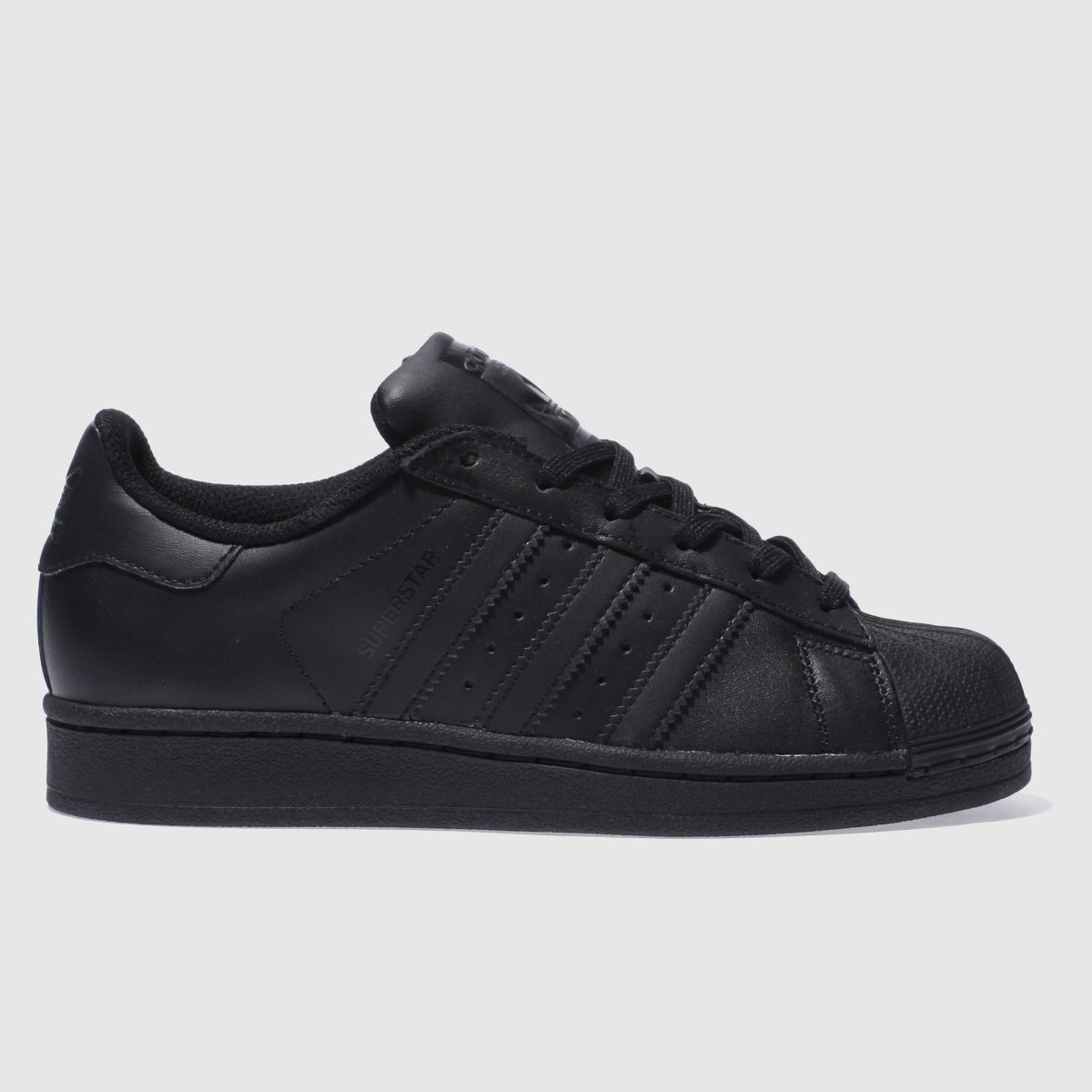 adidas black superstar foundation Boys Youth Trainers