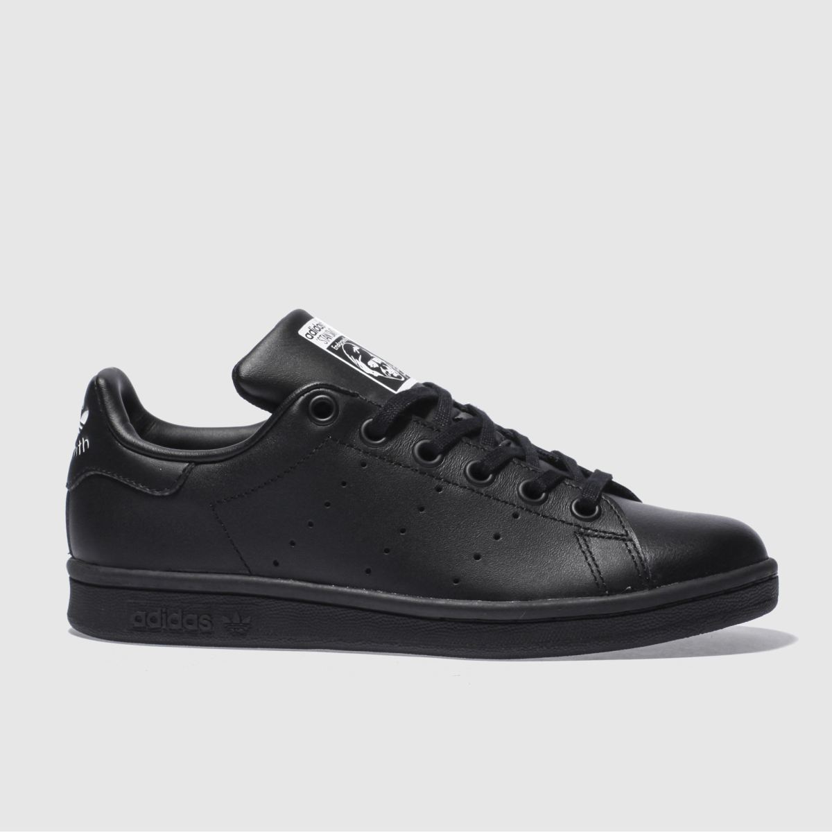 adidas black stan smith Boys Youth Trainers