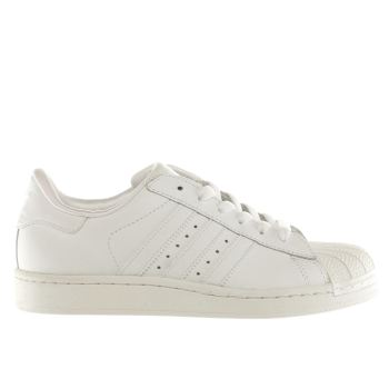 Unisex Adidas White Superstar Ii Unisex Youth