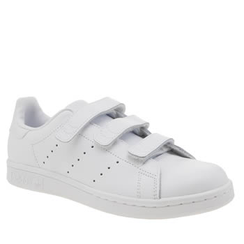 Adidas White Stan Smith Comfort Unisex Youth