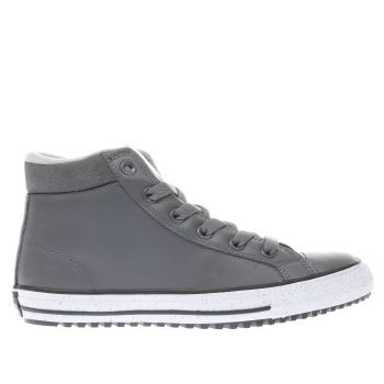 Converse Grey Boot Unisex Youth