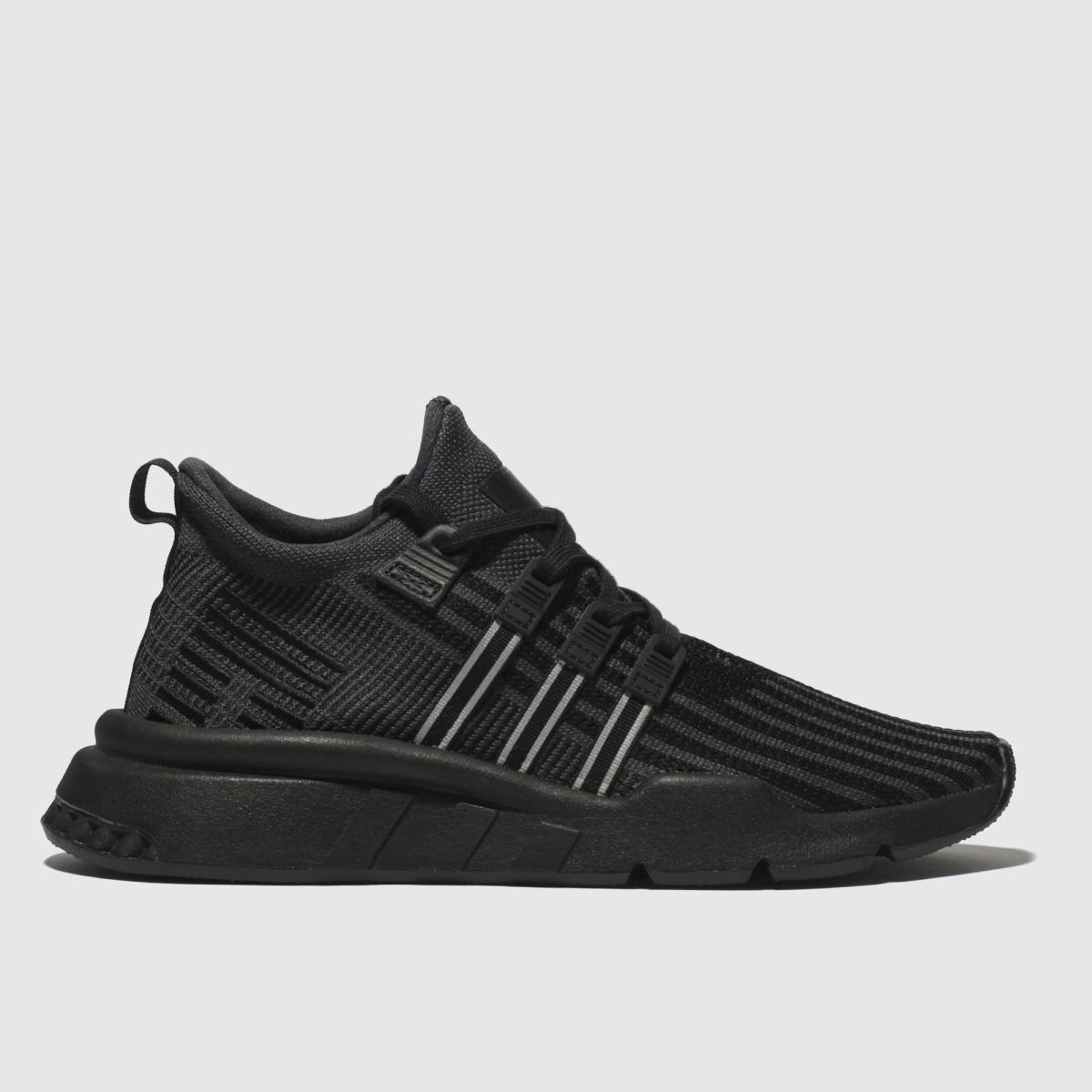 Adidas Black Eqt Support Mid Trainers Youth
