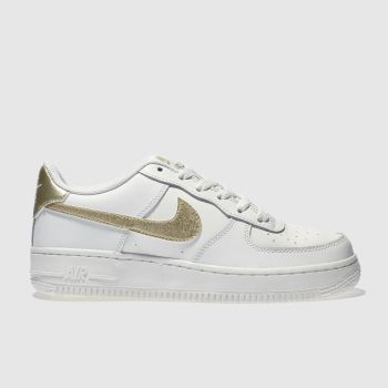 Nike White Air Force 1 Unisex Youth