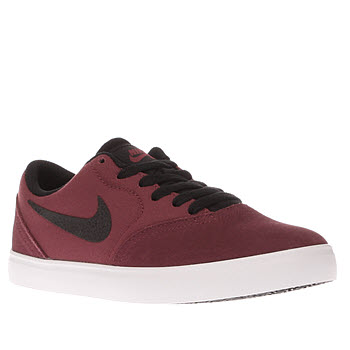 Nike Sb Red Check Unisex Youth