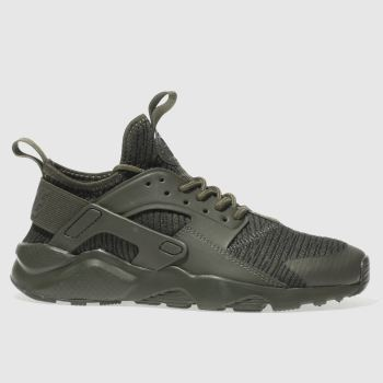 Nike Khaki Huarache Run Ultra Se Unisex Youth