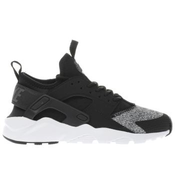 Nike Black Huarache Run Ultra Unisex Youth