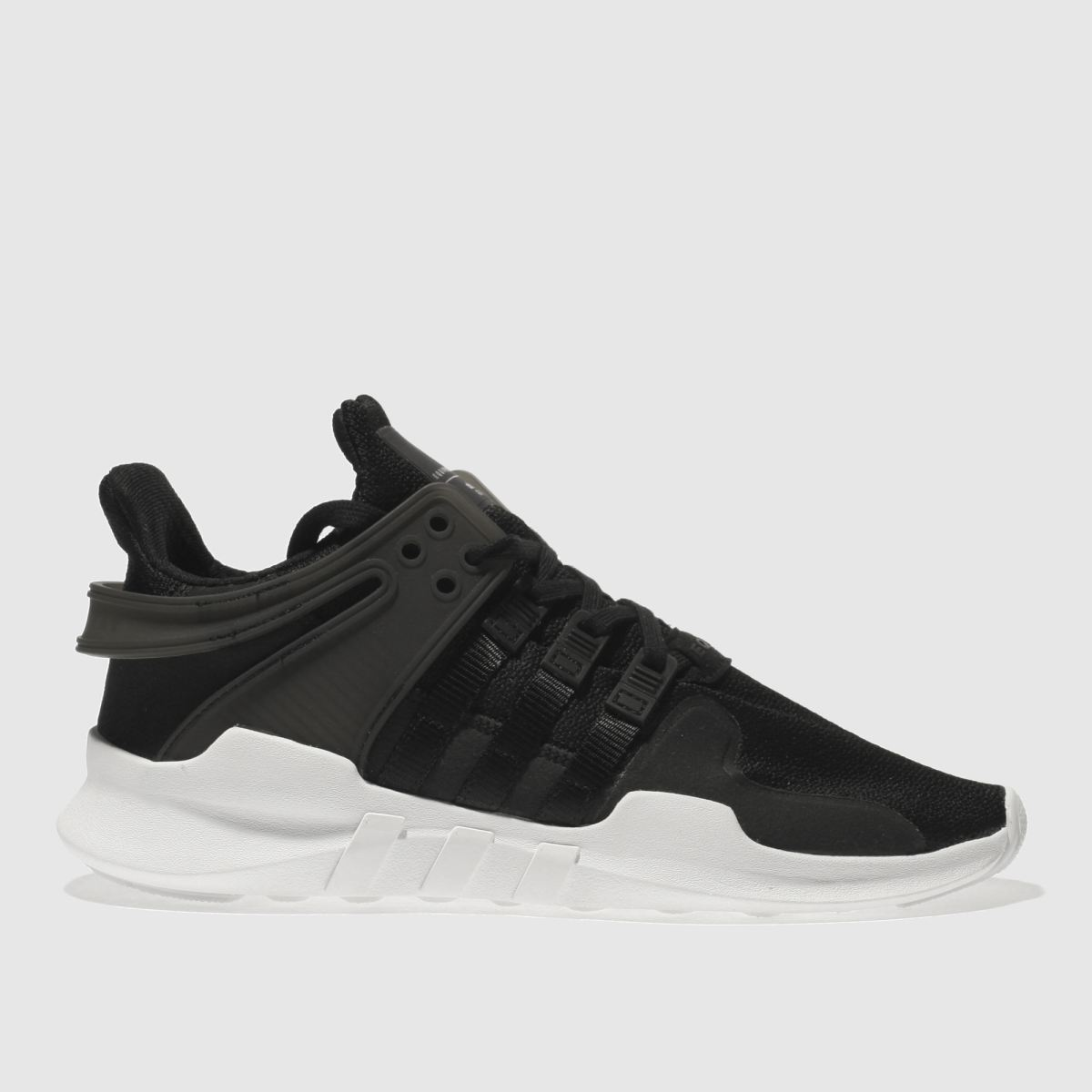 adidas black eqt support adv Youth Trainers