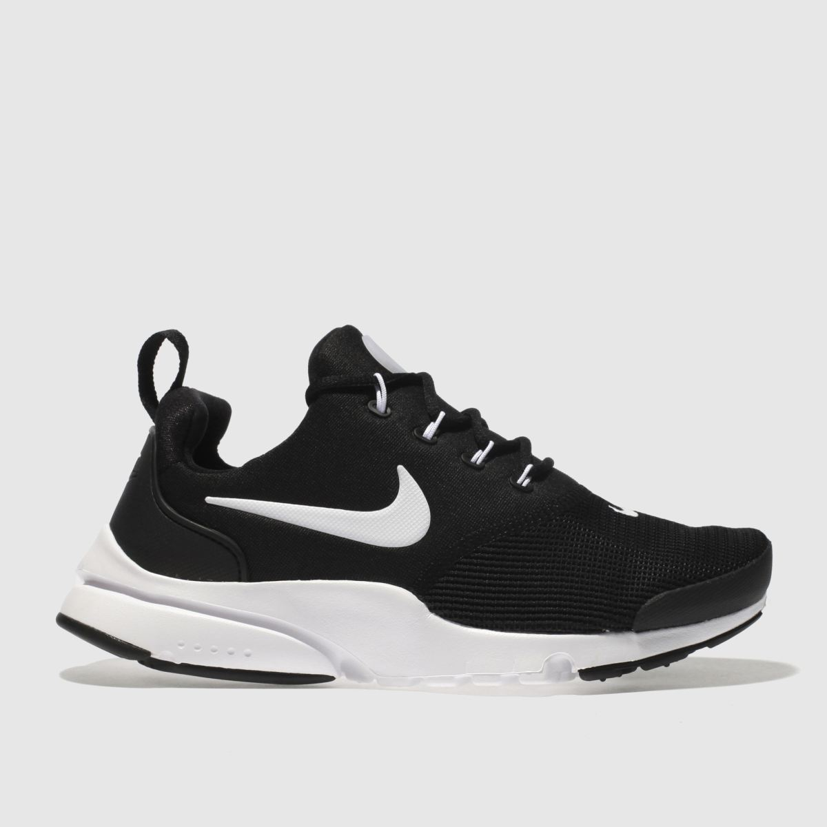 Nike Black & White Presto Fly Youth Trainers