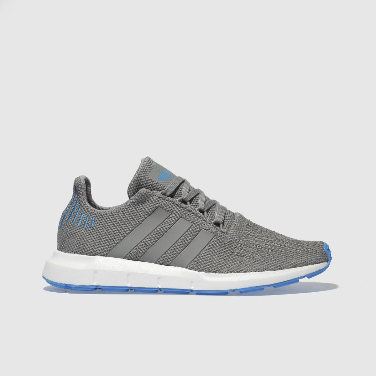 Adidas Light Grey Swift Run Trainers Youth