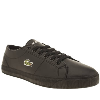 Lacoste Black Marcel Unisex Youth