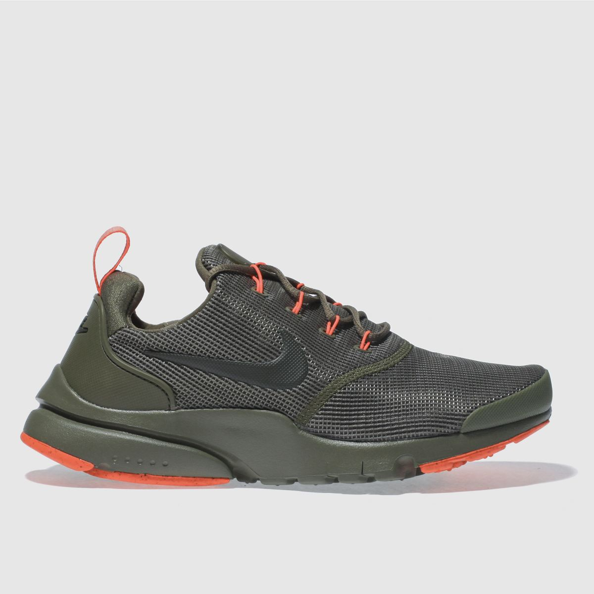Nike Khaki Presto Fly Youth Trainers
