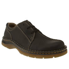 Black Dr Martens Zack 3eye C Seam