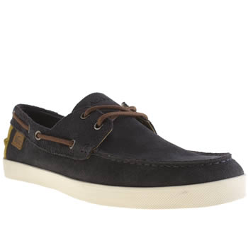 mens lacoste navy keelson shoes
