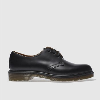 Mens Dr Martens Black Gibson Shoes
