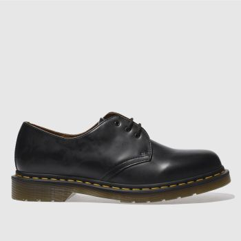 Mens Dr Martens Black 1461z Gibson Shoes