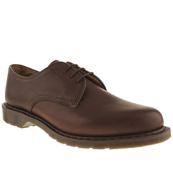 Mens Dr Martens Dark Brown Oscar Octavius Shoes
