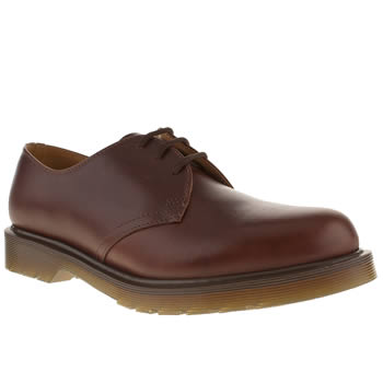Mens Dr Martens Tan 1461 Modern Classic Shoes