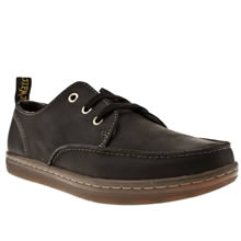 Black Dr Martens Ted Moccasin Toe