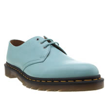 Dr Martens Turquoise 1461 3 Eye Hug Me Mens Shoes