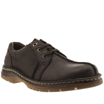 Mens Dr Martens Brown Zak Ripley Shoes