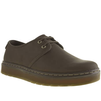 mens dr martens dark brown classic york shoes