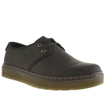 Mens Dr Martens Black Classic York Shoes