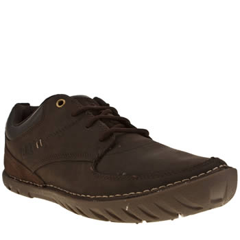 Mens Cat-Footwear Dark Brown Abilene Shoes