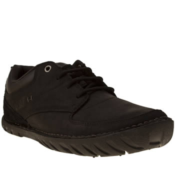 Mens Caterpillar Black Abilene Shoes
