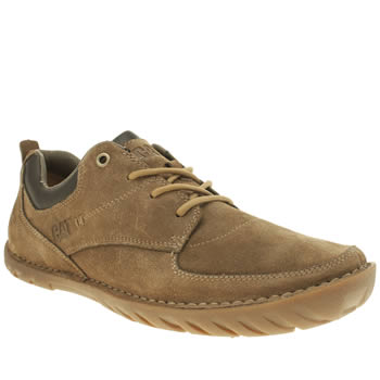 Mens Caterpillar Tan Abilene Shoes