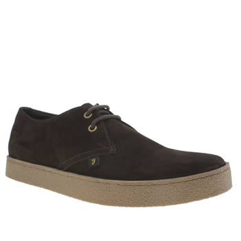 Mens Farah Brown Fame Shoes