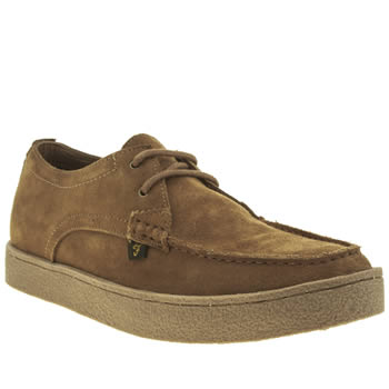 Mens Farah Tan Form Lo Shoes