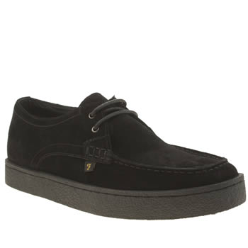 Farah Black Form Lo Shoes