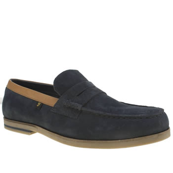 Farah Navy Sterling Mens Shoes