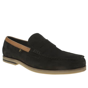 Farah Black Sterling Mens Shoes