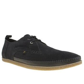 Mens Farah Navy Drape Lo Shoes