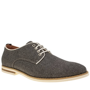 Mens Peter Werth Grey Nesbit Noise Shoes