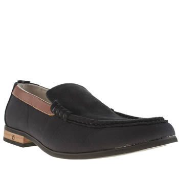 Peter Werth Navy Hawkins Loafer Shoes