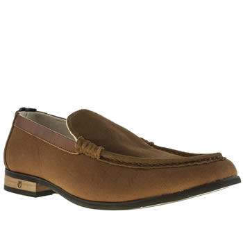 Peter Werth Brown Hawkins Loafer Shoes
